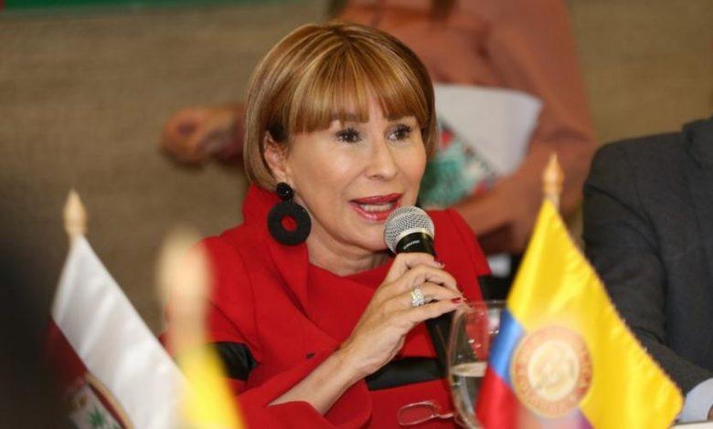 Alicia Arango no será más Ministra del Interior 1