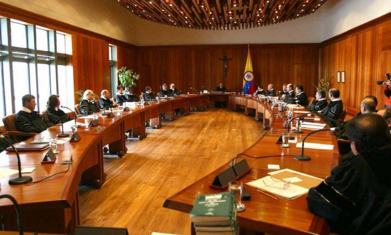 Por acoso sexual y laboral denuncian a magistrados de la Corte Constitucional 1