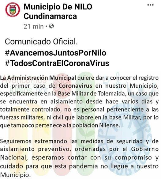 Instituto Nacional de Salud adjudicó erróneamente nuevo caso de Covid a Melgar 2