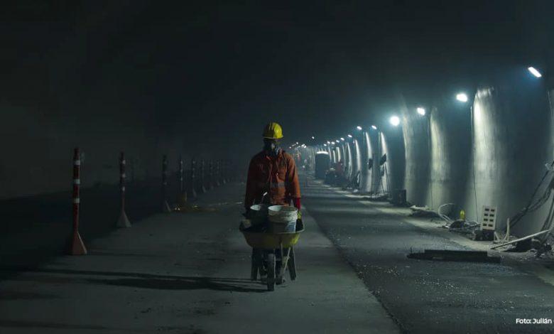 Con estrictas medidas de bioseguridad se reactivan trabajos en el Túnel de la Línea 1
