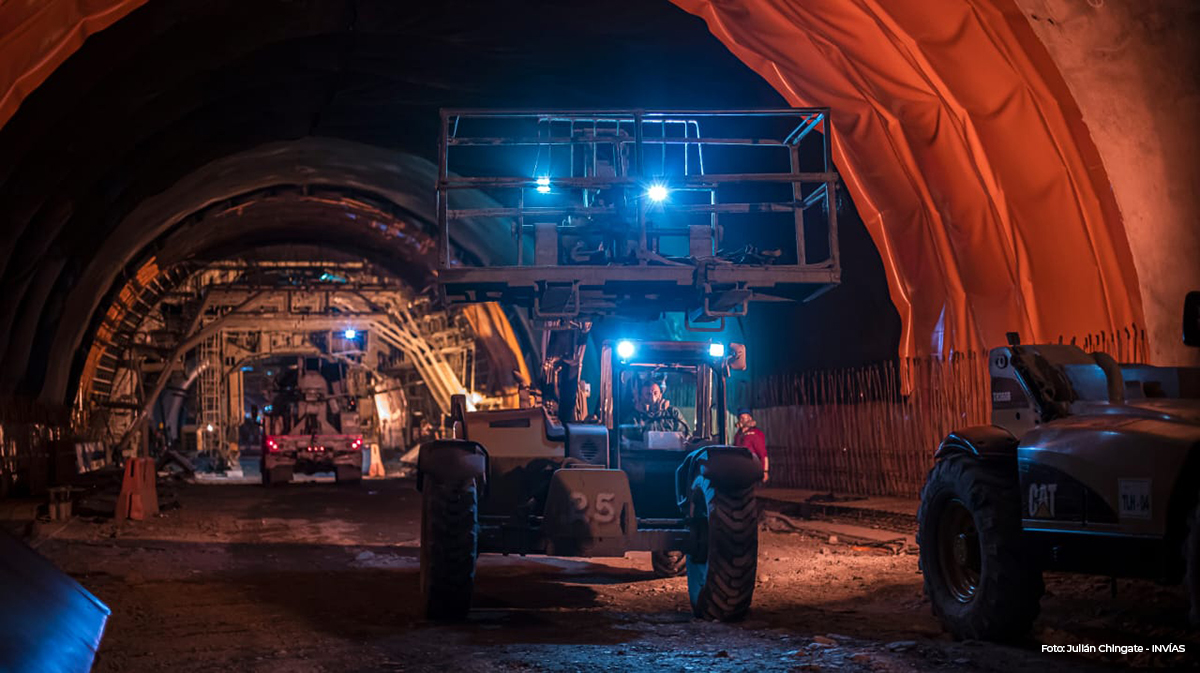 Con estrictas medidas de bioseguridad se reactivan trabajos en el Túnel de la Línea 3