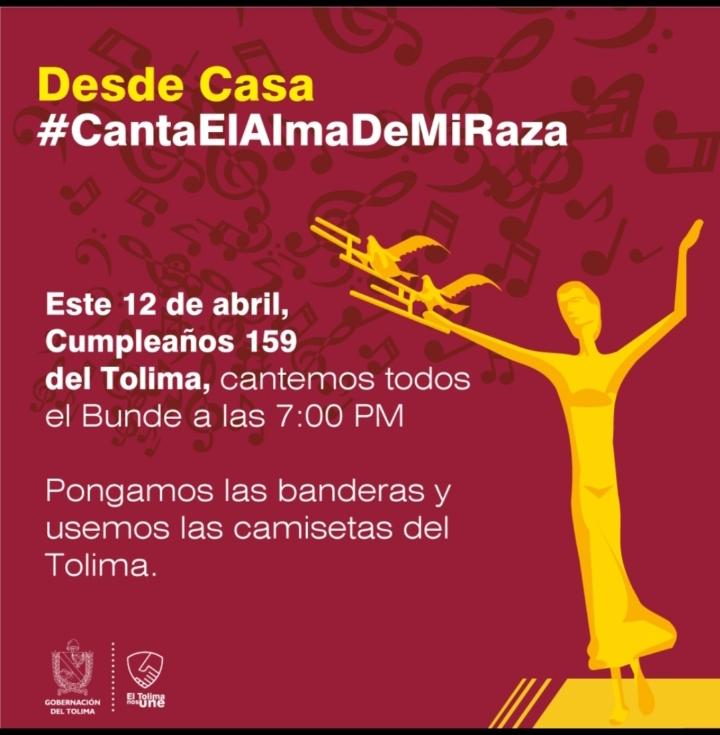 Tolimenses del mundo, celebremos el Cumpleaños 159 de nuestra tierra 2