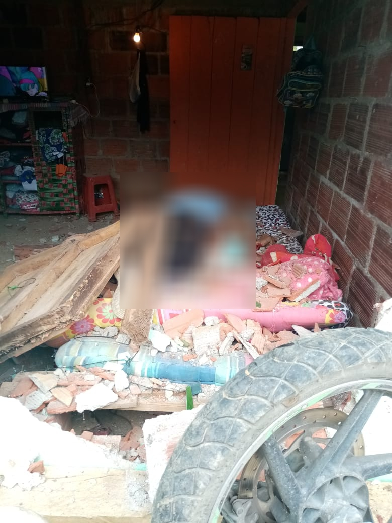 Falleció motociclista que chocó contra una casa 3