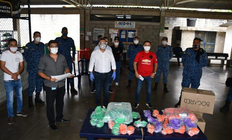 Entregan 5.000 tapabocas al Coiba de Picaleña 1