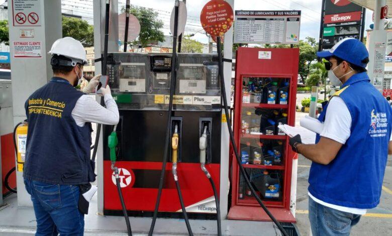 La SIC verificó las bombas de gasolina y supermercados de Ibagué 1