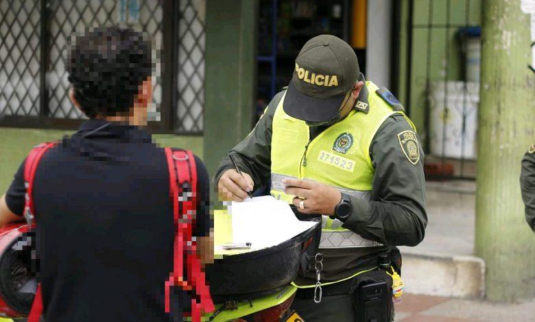 Más de 1000 comparendos han sido aplicados por incumplimiento de la cuarentena en el Tolima 1