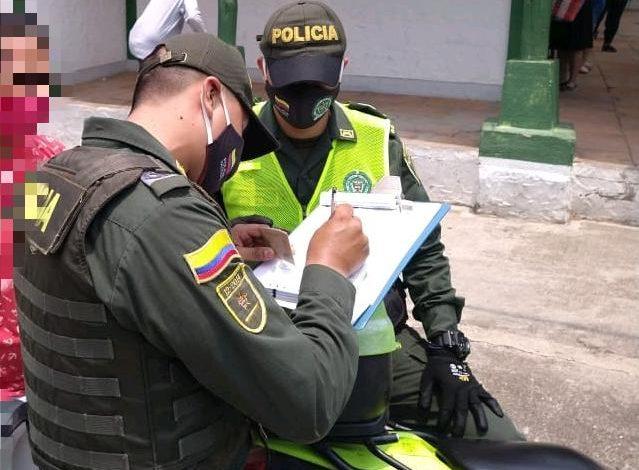 2.994 comparendos en el Tolima por el incumplimiento de la cuarentena 1