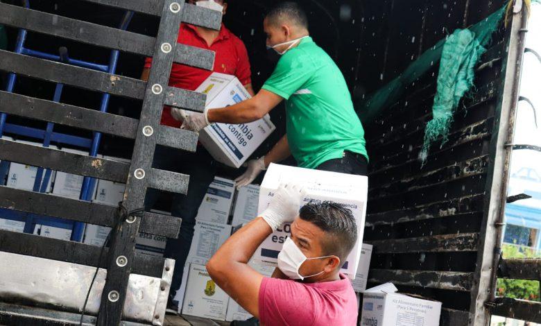 Gobernación entrega asistencias humanitarias a adultos mayores de 70 años 1