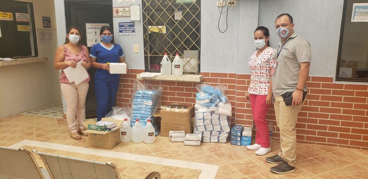Inició la entrega de insumos a hospitales de primer nivel de complejidad 2