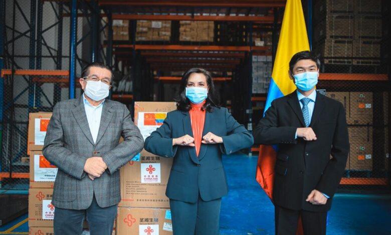 China hizo una importante donación de materiales para combatir el covid-19 1