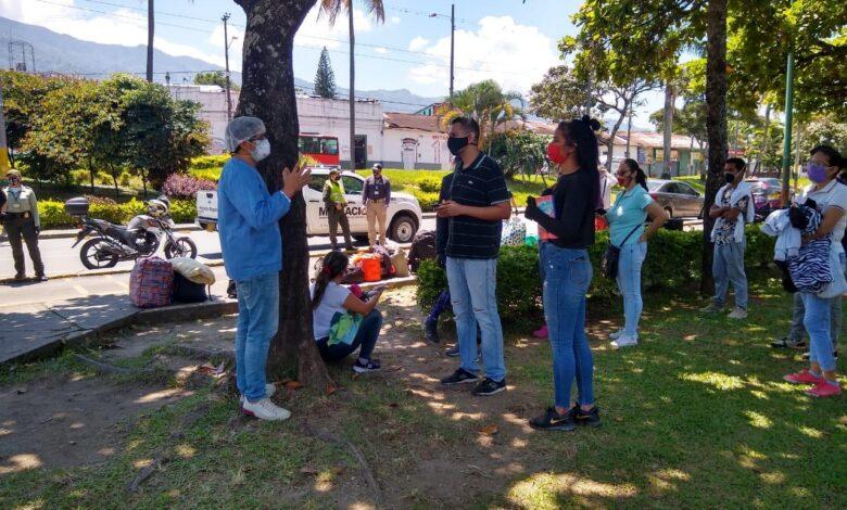 Venezolanos de vuelta a casa desde Ibagué 1