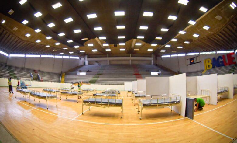 Coliseo de la 42 fue habilitado como centro asistencial 1