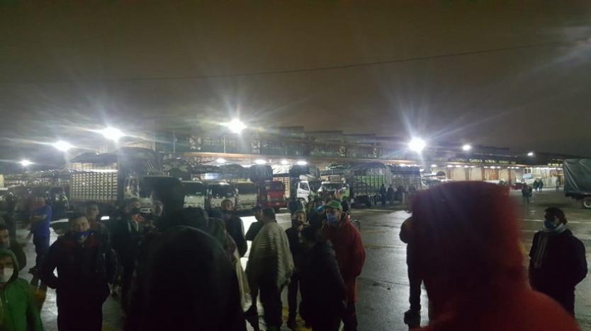 Protestas en Corabastos 3