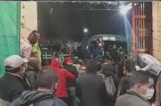 Protestas en Corabastos 1