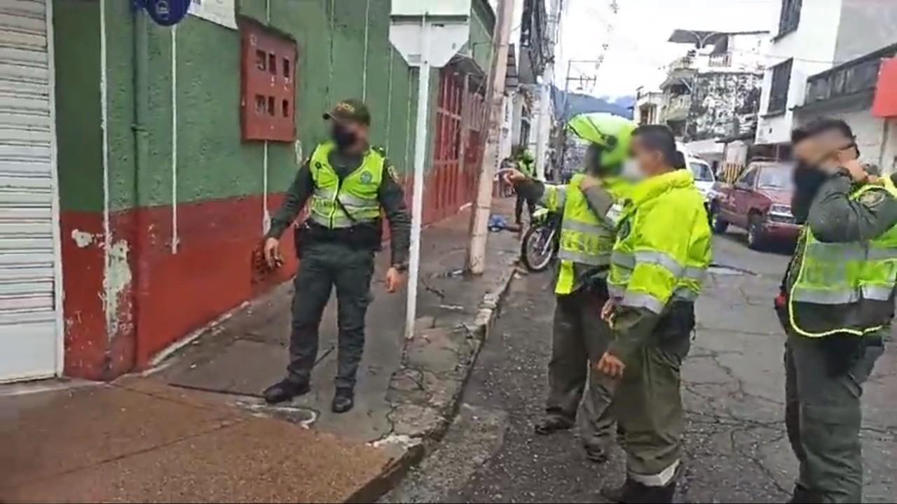 Sicariato en el barrio Pueblo Nuevo de Ibagué 2