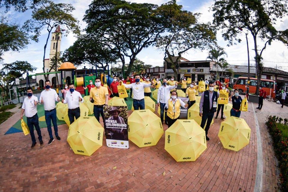 Población vulnerable de Ibagué recibió donativo de tapabocas 4