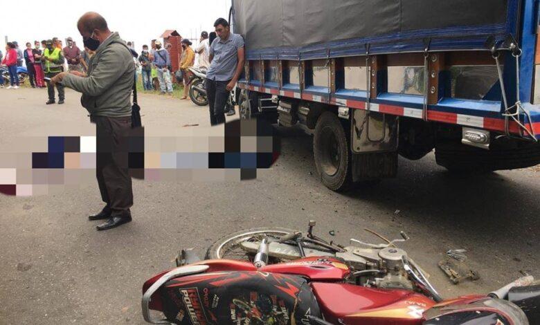 Trágico accidente en la vía a Santa Isabel 1