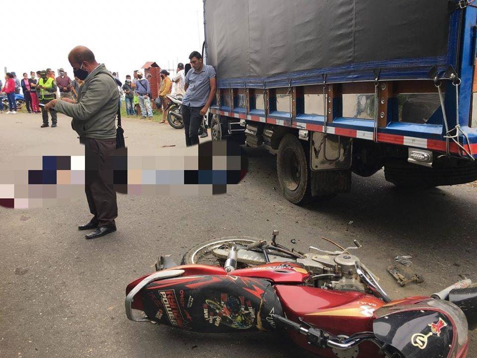 Trágico accidente en la vía a Santa Isabel 2