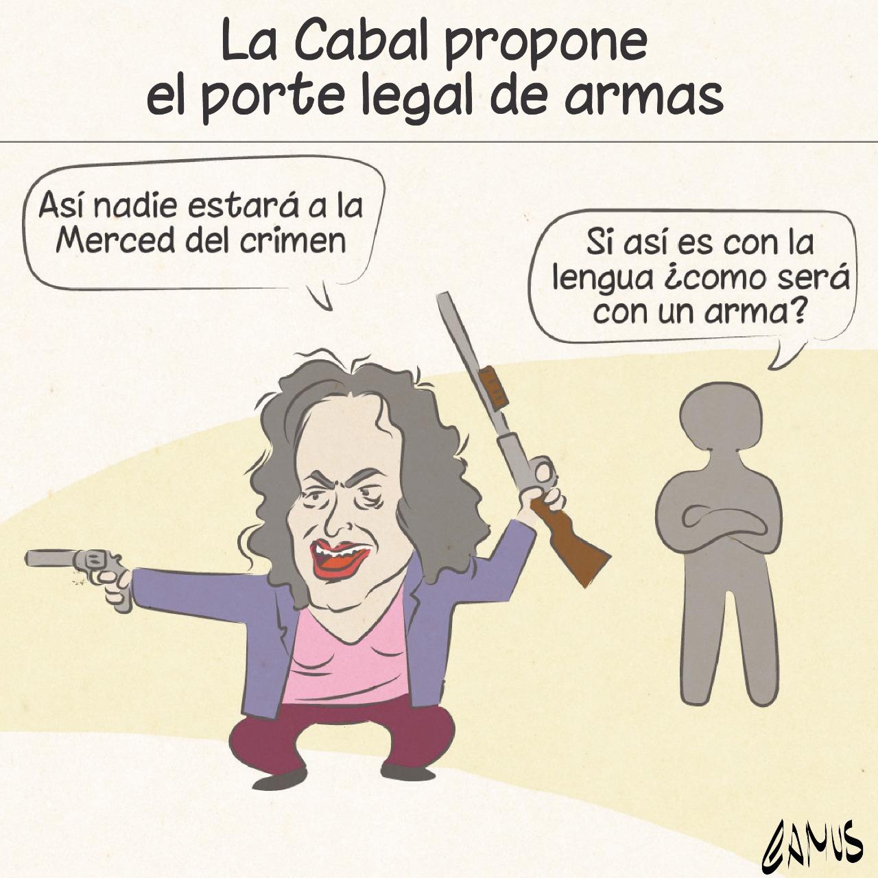 Cabal propone porte legal de armas 5