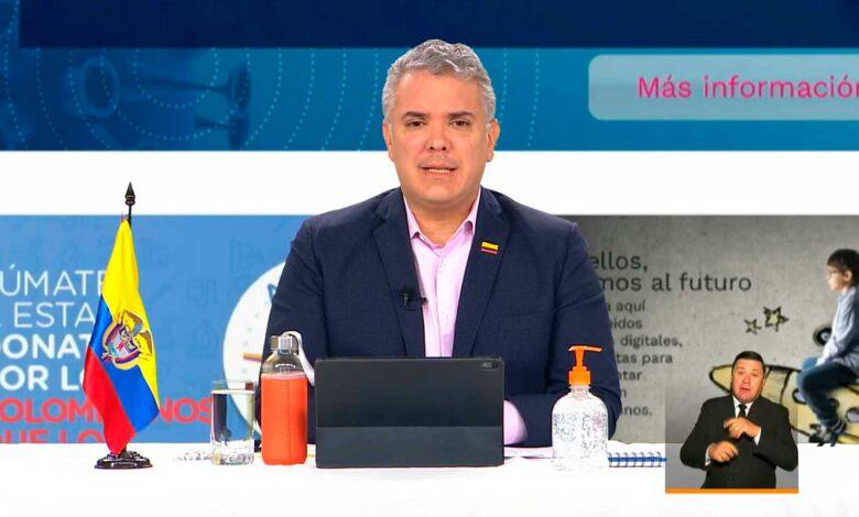Duque se ofreció a recibir vacuna de AstraZeneca para generar confianza a los colombianos 1