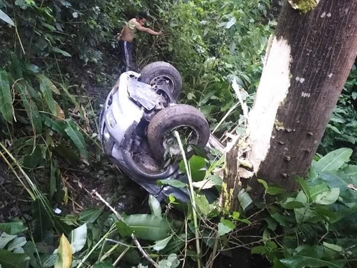 Conductor salió ileso de accidente en Abismo de Ortega Tolima 2