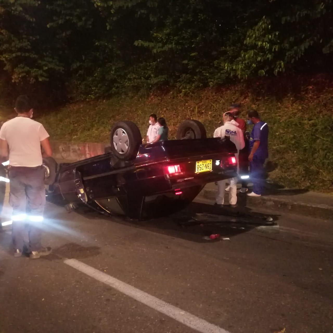 Fatal accidente en la avenida Guabinal, un hombre perdió la vida 7