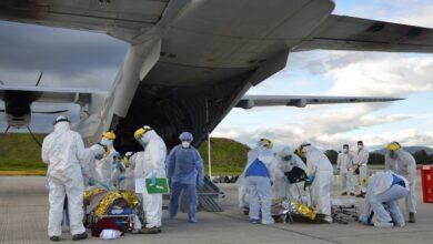 Photo of Heridos del accidente en Tasajera fueron trasladados por la Fuerza Aérea