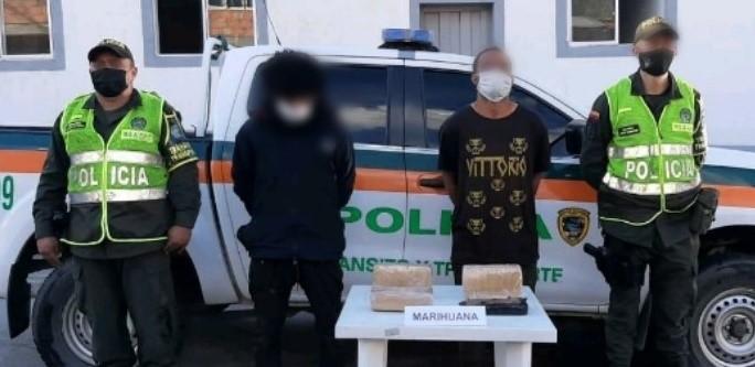 Polizones a la cárcel por transportar marihuana en un camión de carga 1