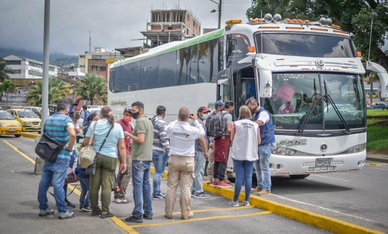 Venezolanos radicados en Ibagué, continúan emigrando a su país 3