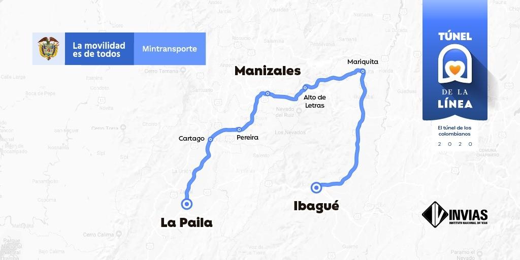 Invias extiende cierres nocturnos entre Calarcá – Cajamarca 1