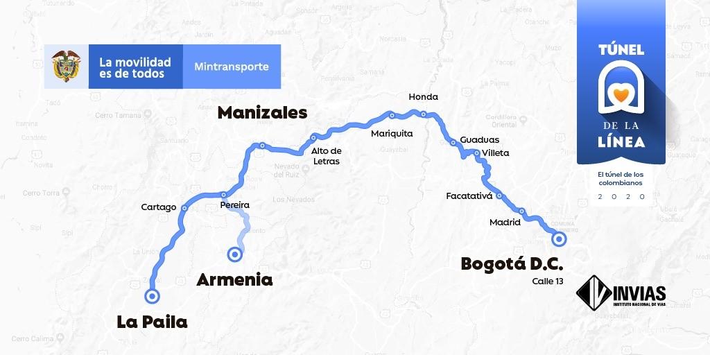 Invias extiende cierres nocturnos entre Calarcá – Cajamarca 2