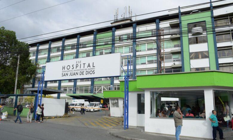 Le formularon cargos a cinco funcionarios del Hospital San Juan de Dios del Quindío 1