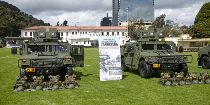 Seis vehículos especiales fueron entregados para la seguridad en carreteras 1