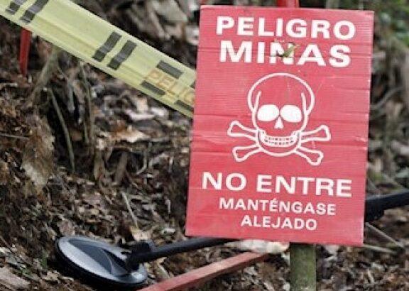 Mina antipersonal deja un indígena muerto y dos heridos 1