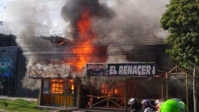 Photo of Dos establecimientos afectados por incendio en el Salado