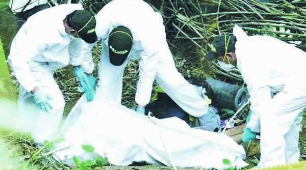Investigan hallazgo de un cadáver en zona rural de Chaparral 1