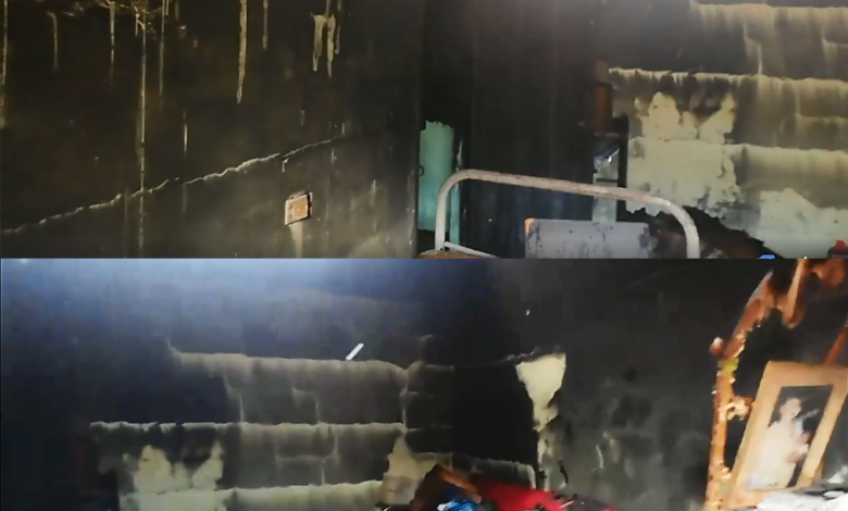 Incendio en el Guamo dejó en la calle a una familia 1