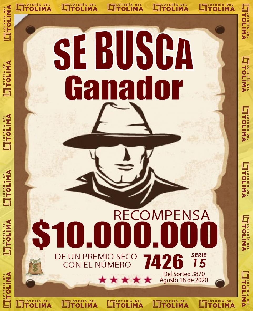 La Lotería del Tolima busca ganadores de 10 y 5 millones de pesos 6