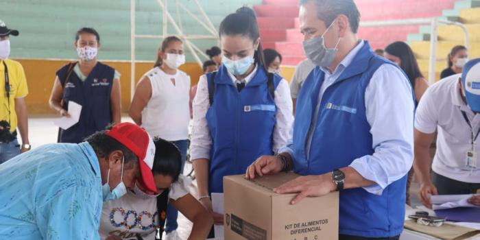 1000 Kits alimentarios están siendo entregados a víctimas en el Tolima 1