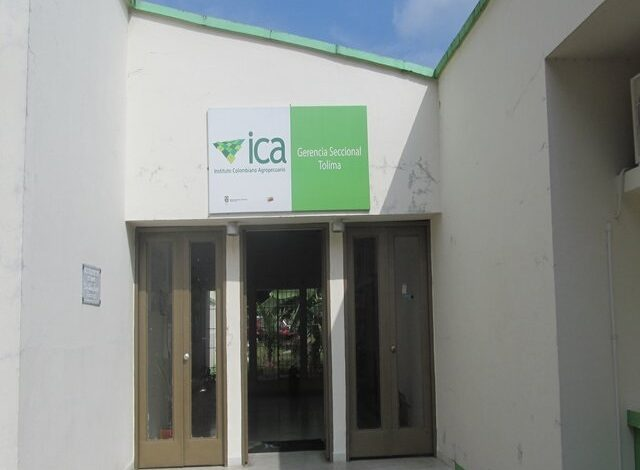 Trámites del ICA Tolima, se harán por correo electrónico este lunes 3