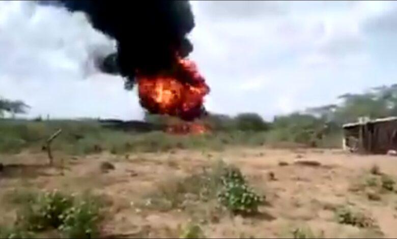 Varios heridos tras explosión de camiones con gasolina en Maicao 1