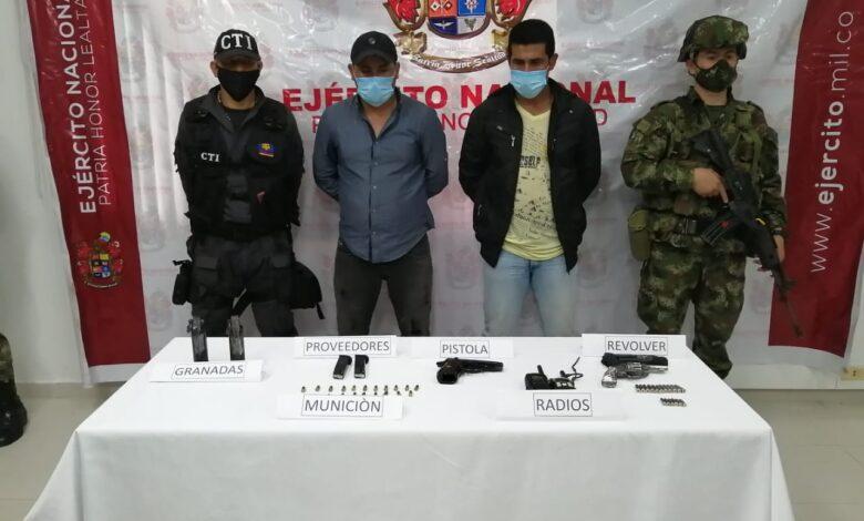 A la cárcel por porte de material de guerra cabecilla de disidencias en el sur del Tolima 1