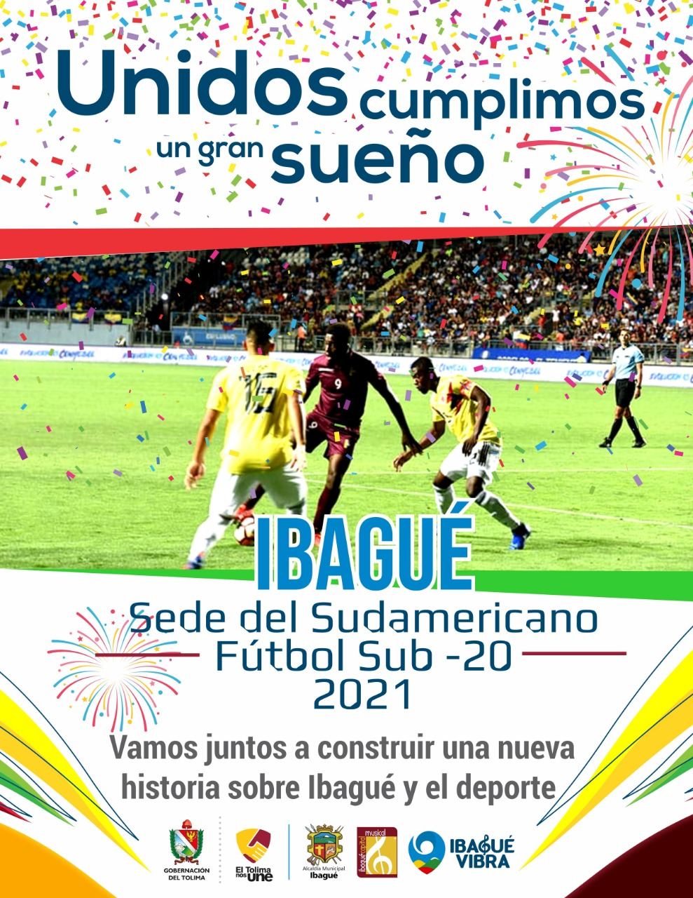 Sudamericano Sub 20 cada vez más cerca de llegar a Ibagué 4