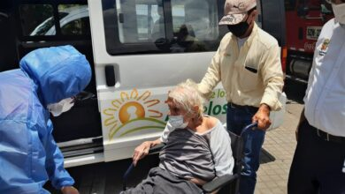 Photo of En estado de abandono y con Covid-19 encontraron abuelita de 94 años