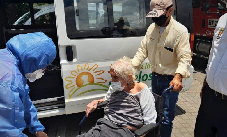 En estado de abandono y con Covid-19 encontraron abuelita de 94 años 1