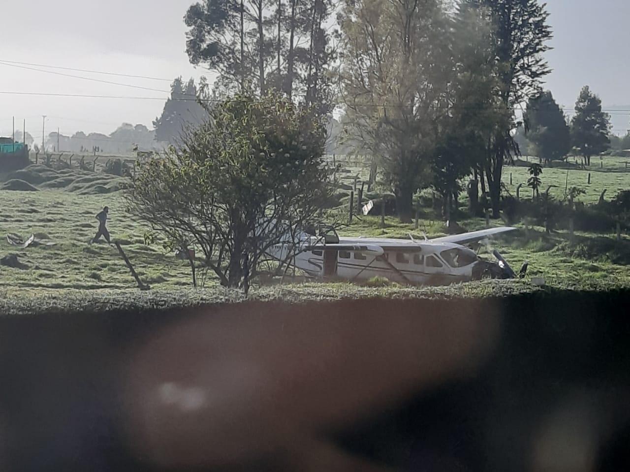 Accidente de avioneta en el norte de Bogotá 7