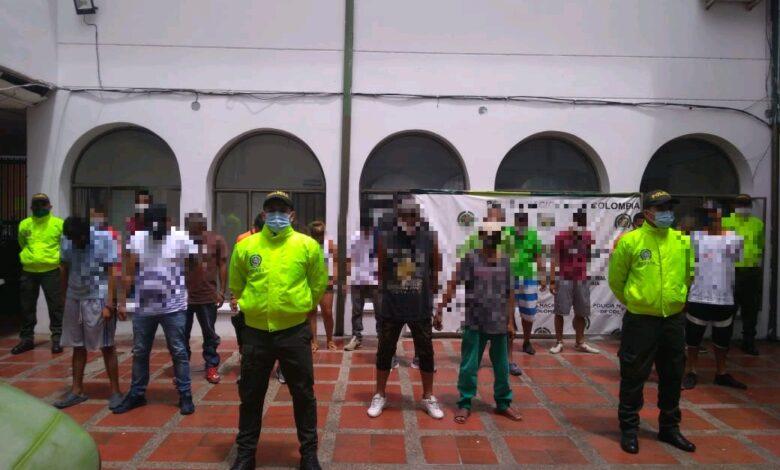 Capturan banda dedicada al microtráfico en 15 barrios y veredas del Guamo 1
