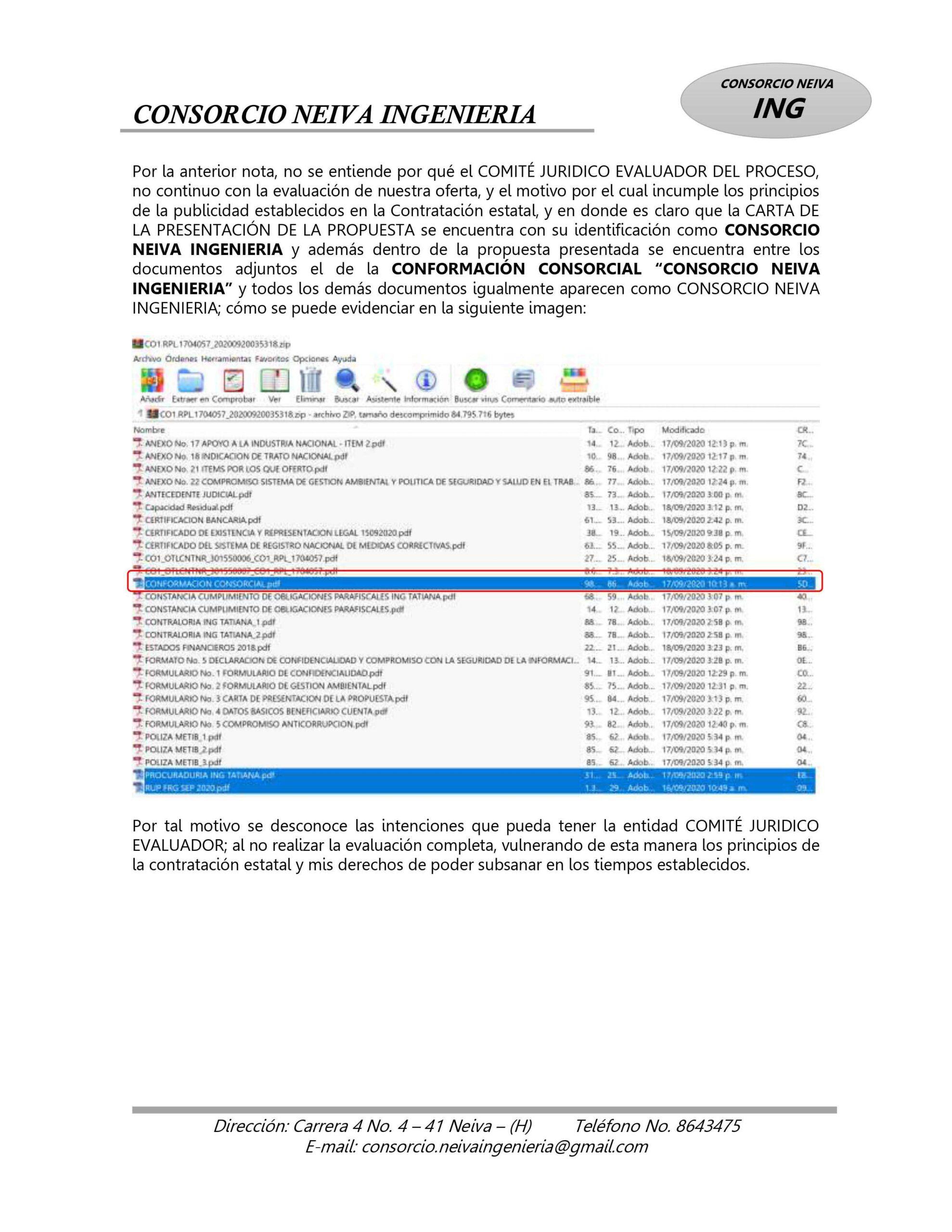 ¿Policía en el Tolima estaría favoreciendo a Contratista? 7
