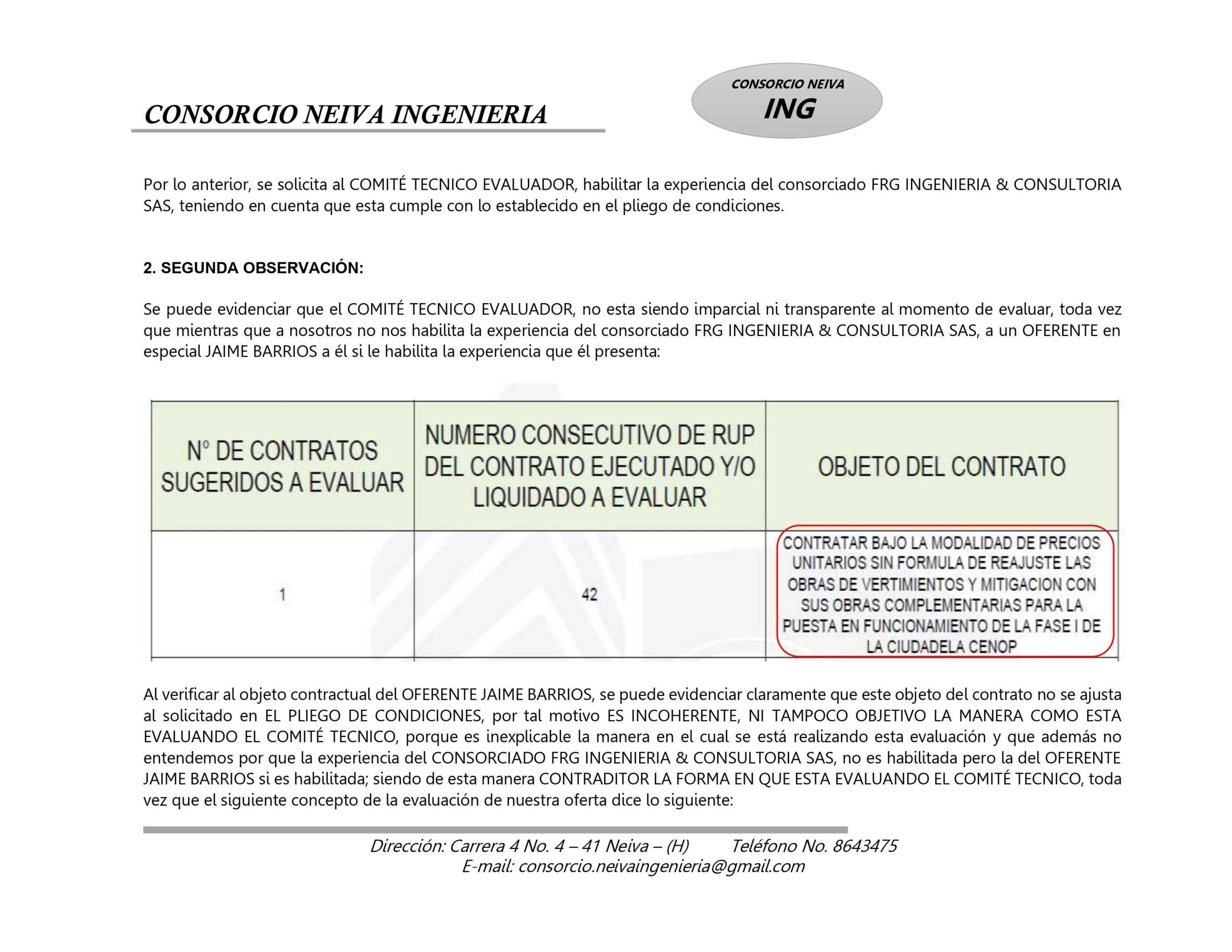 ¿Policía en el Tolima estaría favoreciendo a Contratista? 8