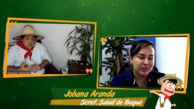 Johana Aranda, Secretaria de Salud de Ibagué, presenta balance después del 3° toque de queda en Ibagué 14
